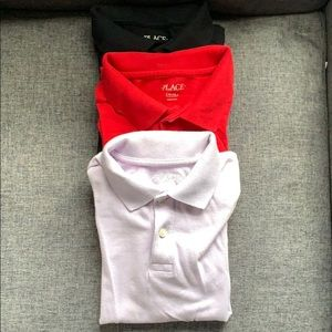 The Children's Place Boys Polos Size 7/8